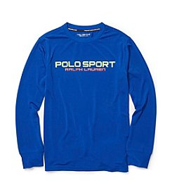 Ralph Lauren Childrenswear Boys' 8-20 Long Sleeve Jersey Tee