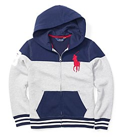 Ralph Luaren Childrenswear® Boys' 2T-20 Full Zip Hoodie