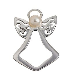 Studio Works® Silvertone Angel With Pearl Pin