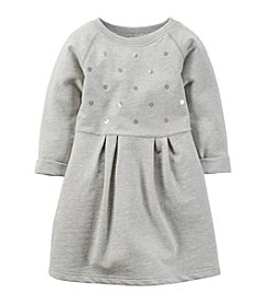 Carter's® Girls' 2T-4T Embellished French Terry Dress