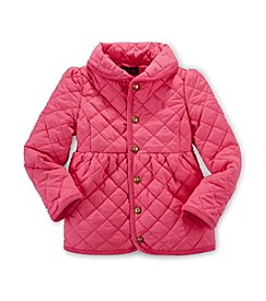 Ralph Lauren Childrenswear Girls' 2T-6X Solid Quilted Jacket