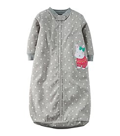 Carter's® Baby Girls' 3-24 Month Sweet Sweatered Scotty Sleeper