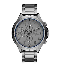 A|X Armani Exchange Men's Gunmetal Stainless Steel Y Link Bracelet Watch
