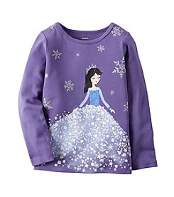 Carter's® Baby Girls' 12-24 Month Snow Princess Tee