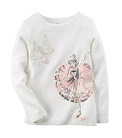 Carter's® Baby Girls' 12-24 Month Ballerina Tee