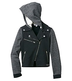 DKNY® Girls' 7-16 Chelsea Moto Jacket