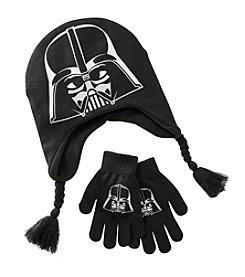 Star Wars™ Boys' 4-7 Darth Vader Peruvian Hat And Gloves