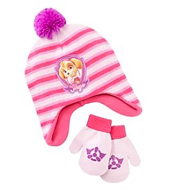Nickelodeon® Girls' Paw Patrol Hat And Mittens