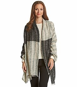 Steve Madden Marled Colorblock Day Wrap