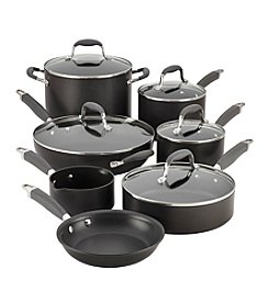 Anolon® Advanced Black 12-pc. Hard-Anodized Nonstick Cookware Set + FREE Bonus Gift! see offer details