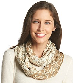 MICHAEL Michael Kors® Jetset Logo With Lurex Small Infinity Scarf