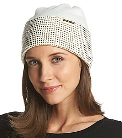 MICHAEL Michael Kors® Heat Seal Studded Cuff Hat