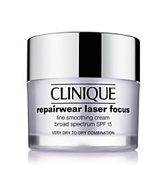Clinique Repairwear Laser Focus SPF 15 Line Smoothing Cream -  Very Dry To Dry Combination