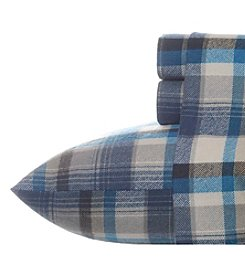 Eddie Bauer® Spencer Plaid Flannel Sheet Set