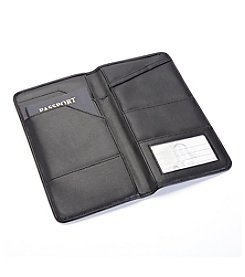 Royce® Leather Executive Passport Travel Document Wallet