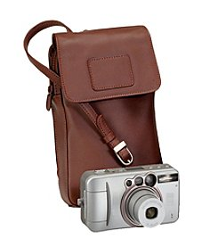Royce® Leather Lightweight Travel Digital Camera Smart Phone Case