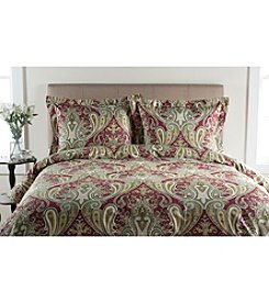 Elite Home Products Crystal Palace 300-Thread Count Print Duvet Cover Sets