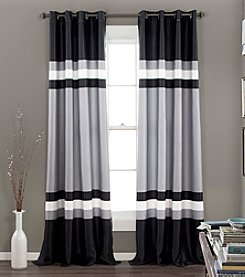 Lush Decor Alexander Room Darkening Window Curtain