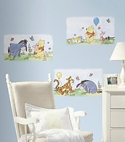 RoomMates Scenic Winnie the Pooh Peel & Stick Wall Decals