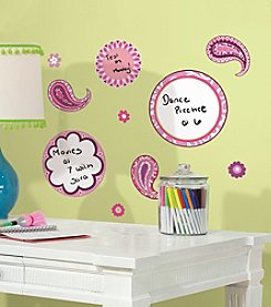 RoomMates Dry Erase Paisley Peel & Stick Wall Decals