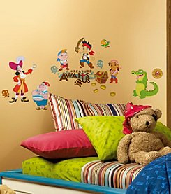 RoomMates Disney® Jake and the Neverland Pirates Peel & Stick Wall Decals