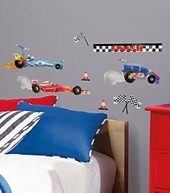 RoomMates Racing Cars Peel and Stick Wall Decals