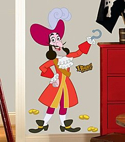 RoomMates Disney® Jake and the Neverland Pirates' Captain Hook Giant P&S Wall Decals