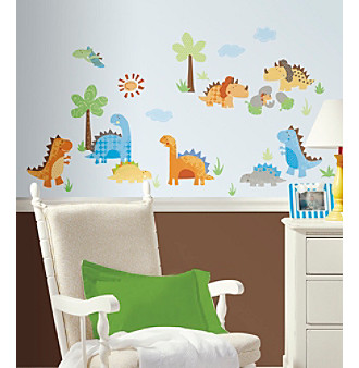 RoomMates Babysaurus Peel & Stick Wall Decals
