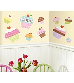 RoomMates Happi Cupcake Giant Peel & Stick Wall Decals