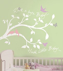 RoomMates Rock-a-Bye Bird Branch Giant Peel & Stick Wall Decals