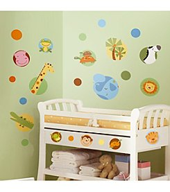 RoomMates Jungle Animals Peel & Stick Wall Decals