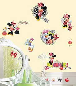 RoomMates Disney® Minnie Loves to Shop Giant Peel & Stick Wall Decals