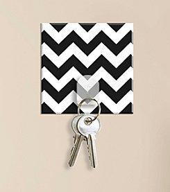 RoomMates Black & White Chevron Magic Hook
