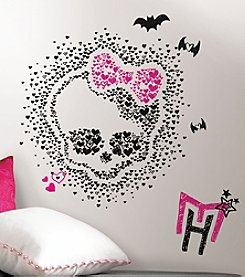 RoomMates Monster High Heart Skullette Peel and Stick Wall Decals