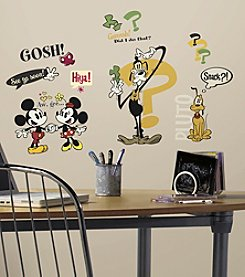 RoomMates Disney® Mickey Mouse Cartoons Peel & Stick Wall Decals