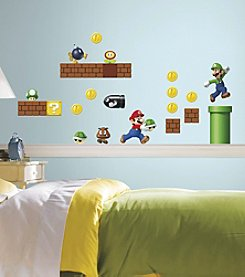 RoomMates Nintendo® Super Mario Build-a-Scene Peel & Stick Wall Decals