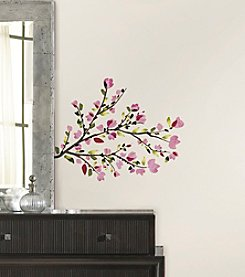 RoomMates Pink Cherry Blossom Branches Peel & Stick Wall Decals