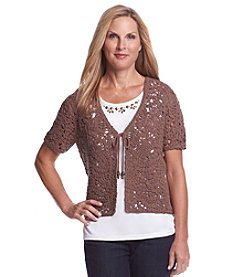 Alfred Dunner® Layered Sweater