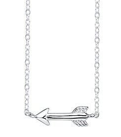 LArocks® Sterling Silver Arrow Mini Necklace