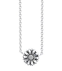 LArocks® Sterling Silver Flower Mini Necklace