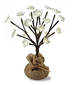 1-ft. LED Cherry Blossom Tree with Burlap Sack