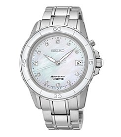 Seiko® Women's Sportura Kinetic Watch