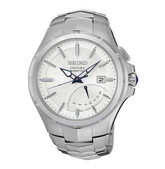 Seiko® Men's Coutura Kinetic Retrograde Watch