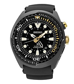 Seiko® Men's Prospex 50th Anniversary Kinetic GMT Diver Watch