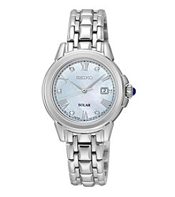 Seiko® Women's Le Grand Sport Solar Diamond Dial