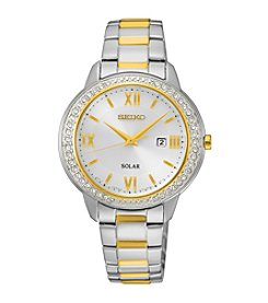 Seiko® Women's Recraft Crystal Solar