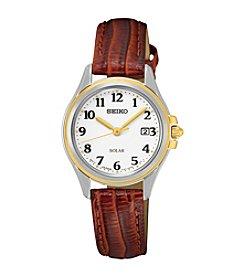 Seiko® Women's Solar Watch