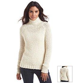 Chelsea & Theodore® Beige Chunky Sweater