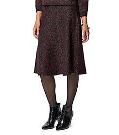 Chelsea & Theodore® Animal Print Sweater Skirt