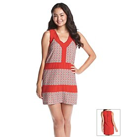 XOXO® Printed Shift Dress